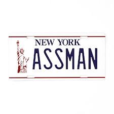 ASSMAN Aluminum License Plate