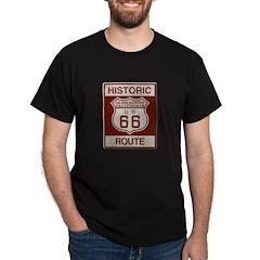 Cajon Summit Route 66 Dark T-Shirt