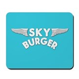 Sky Burger Mousepad