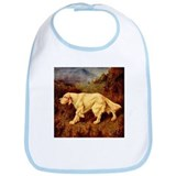 English Setter Lilian Cheviot Bib
