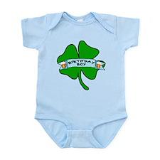 Irish Birthday Boy with Beer Infant Bodysuit