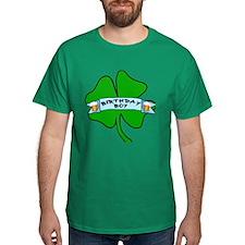 Irish Birthday Boy with Beer T-Shirt