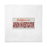 California Arson Investigator Queen Duvet