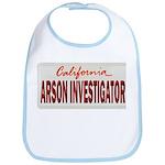 California Arson Investigator Bib
