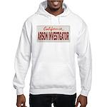 California Arson Investigator Hooded Sweatshirt