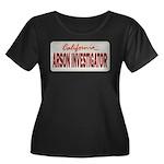 California Arson Investigator Women's Plus Size Sc