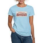 California Arson Investigator Women's Light T-Shir