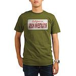 California Arson Investigator Organic Men's T-Shir