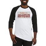 California Arson Investigator Baseball Jersey