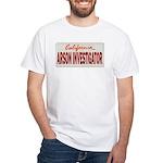 California Arson Investigator White T-Shirt