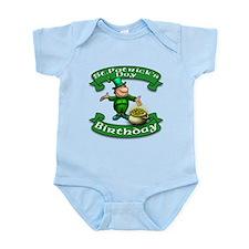 St. Patrick Birthday Leprechaun Infant Bodysuit