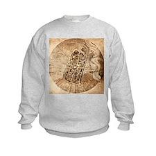 Historical city map of Imola, Italy - Sweatshirt