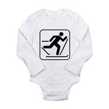 Cross Country Skiing Sports Long Sleeve Infant Bod