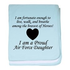 Fortunate Proud AF Daughter.png baby blanket