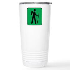 Hiking Hiker Sports Ceramic Travel Mug