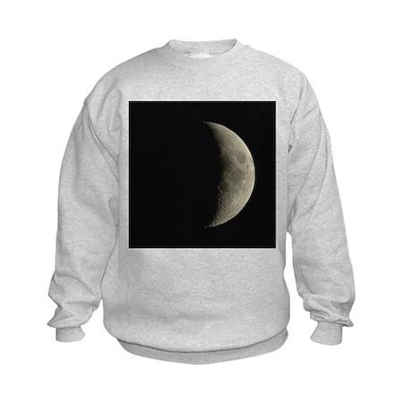 Waxing crescent Moon - Kids Sweatshirt