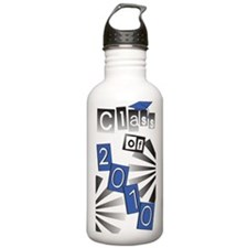 Class of 2010 Blue Grad Water Bottle