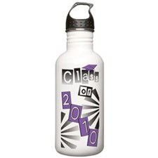 Class of 2010 Purple Grad Water Bottle