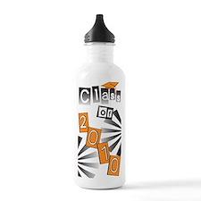 Class of 2010 Orange Grad Water Bottle