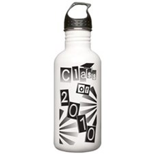 Class of 2010 Black Grad Water Bottle