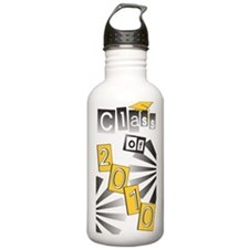 Class of 2010 Gold Grad Water Bottle