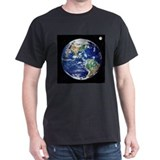 Earth from space, satellite image - T-Shirt