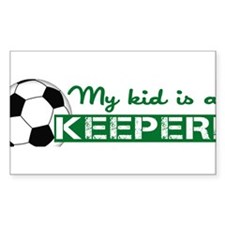Proud Goalkeeper Parent Decal