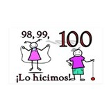 100TH DAY We did it SPANISH Wall Decal