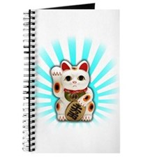 Lucky Cat (Maneki-neko) Journal