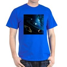 Artwork of the solar system - T-Shirt