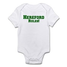 Hereford Rules! Infant Bodysuit