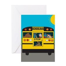 School Bliss Greeting Card