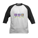 see hear speak no evil owls Baseball Jersey