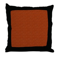 Brick Wall Brickyard Throw Pillow