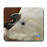 Screaming Cockatoo Mousepad