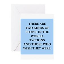 tycoon Greeting Cards (Pk of 20)