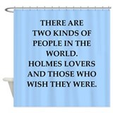 holmes Shower Curtain