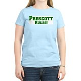 Prescott Rules! Women's Pink T-Shirt