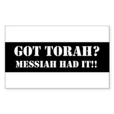 GOT TORAH? Decal