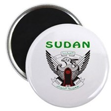 "Sudan Coat of arms 2.25"" Magnet (100 pack)"