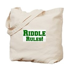 Riddle Rules! Tote Bag