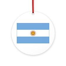 flag of Argentina Ornament (Round)