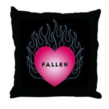 Fallen Heart Throw Pillow