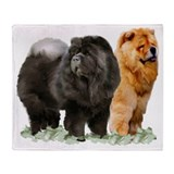 Chow chow Fleece Blankets