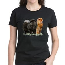 red and black chows Tee