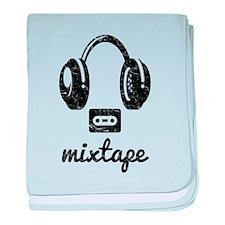 Mixtape baby blanket