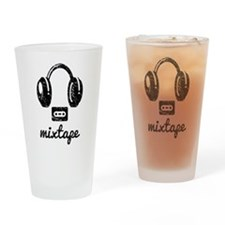 Mixtape Drinking Glass