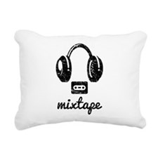 Mixtape Rectangular Canvas Pillow