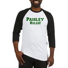 Paisley Rules! Baseball Jersey