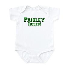 Paisley Rules! Infant Bodysuit